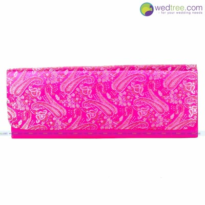 Designer Wallet  - Fancy clutch made of fabric return gift