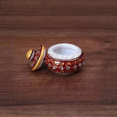 Marble Kum Kum Holder Indian return gift
