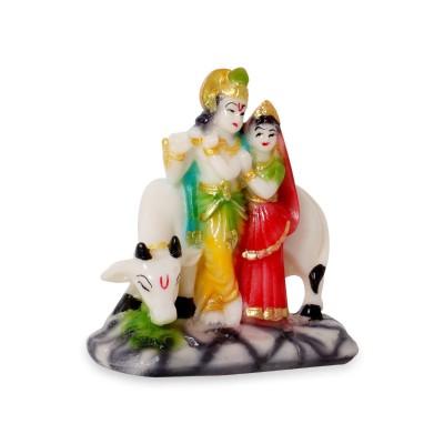 Radha Krishna with Cow - Marble - Radha Krishna with Cow