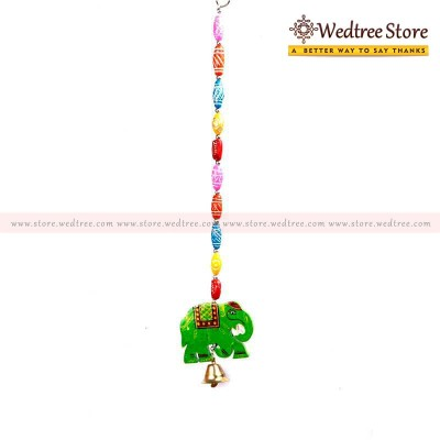 Thoranam -  Thoran with Elephant Beads made of Wood return gift