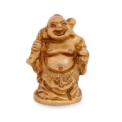 Buddha - Laughing buddha idol Made up of brass return gift
