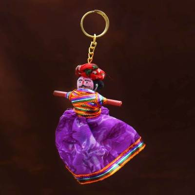 Handmade Rajasthani Doll Key Chain Indian return gift