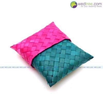 Palm Leaf 4 inch pouch return gift