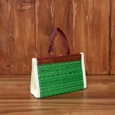 Hand Crafted Korai Bags with Velcro 9X6 inch return gift