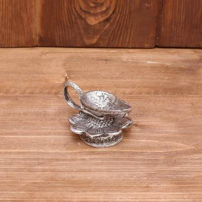 White Metal Dhoop Stand return gift